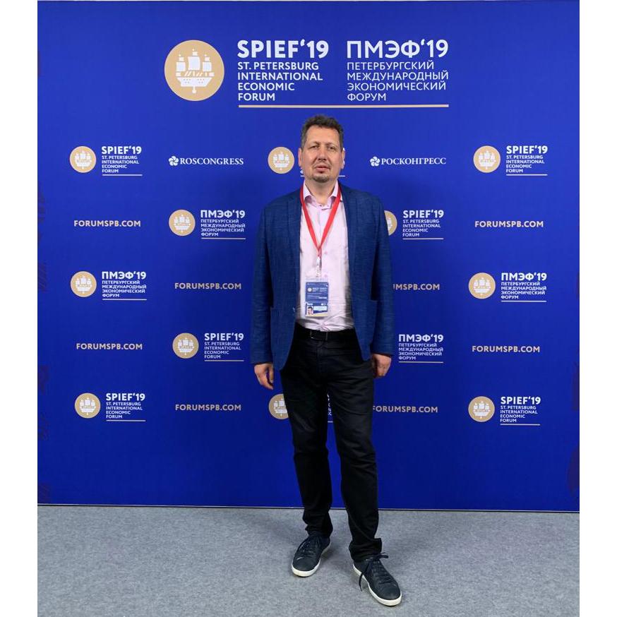 В.В. Климанов на ПМЭФ '19